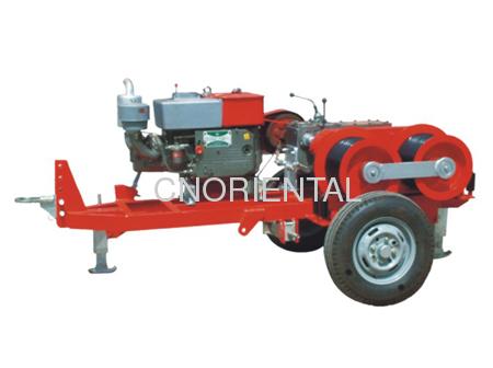 Twin Capstan Hydraulic Winch