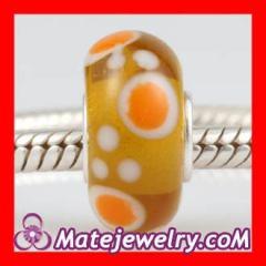 european beads silver core