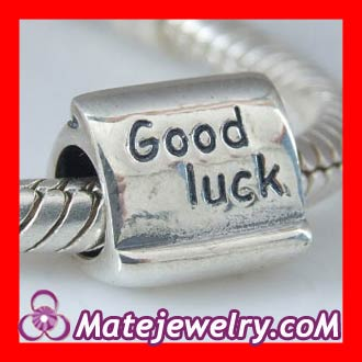 sterling silver good luck beads