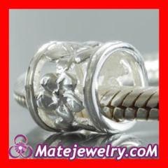 european hollow beads Charms