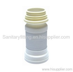 sanitary ware telecopic pipe toilet fitting