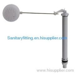 Toilet water tank fitting filling valve