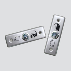 Automatic door stainless push button switches