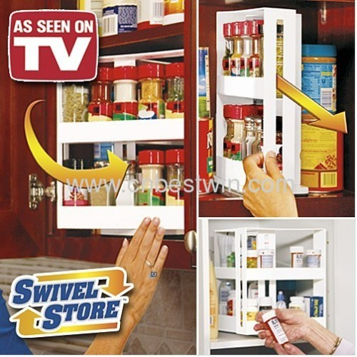 swivel store organizer AS SEEN ON TV