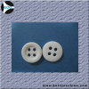 4 Holes Flat Chalk Button