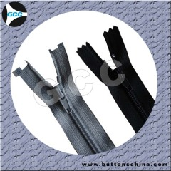 #3 or #5 Nylon Zipper with auto lock slidr close end and open end