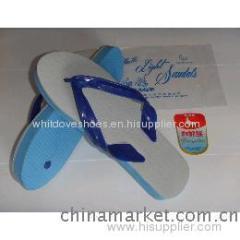 Most cheap white dove pvc slipper2