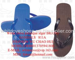 white dove brand plastic light sandals,