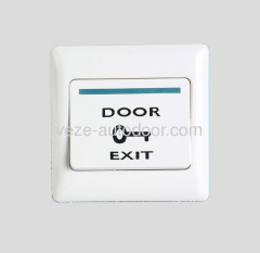 Automatic door plastic push buttons