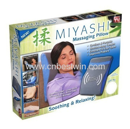 Miyashi pillow as seen on tv