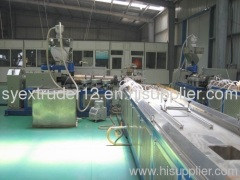 PVC tech Windows profiles production line