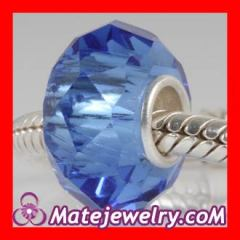 european blue glass beads