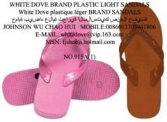 sun dove brand pvc plastic slippers sandals,