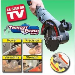 TWINCUT TECHNOLOGY POWER SAW