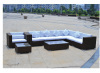 luxury leisure rattan garden furniture sofa set
