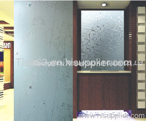 Bon Frosted Glass Panels For Entry Doors/acid Etched Glass