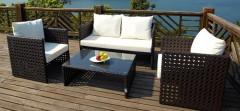rattan garden outdoor sofa