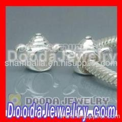 european sterling silver teapot charm beads