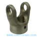 China OEM Driveshaft parts Plain Bore Yoke with Pin Hole