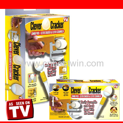 cleaver egg cracker