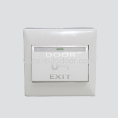 Plastic push button for automatic doors