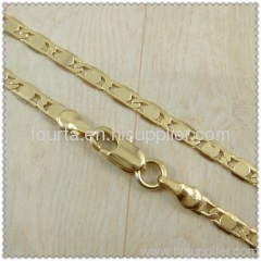 18k gold plated necklace 1420144