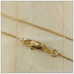 18k gold plated necklace 1420145