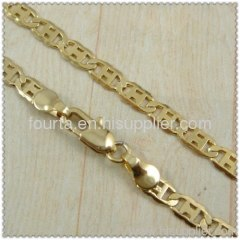 18k gold plated necklace 1420149