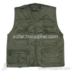 Fishing Vest/ Safety Vest/ Hunting Vest & Gillet