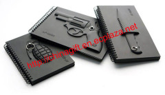 Grenada Knife Revolver Notebook