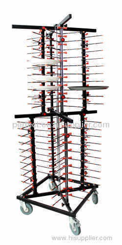 JW-DC80 mobile plate rack JW-DC80 manufacturer from China Guangzhou