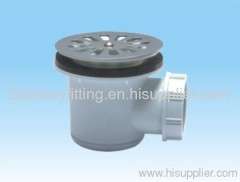 Floor drainer with stainless steel strainer