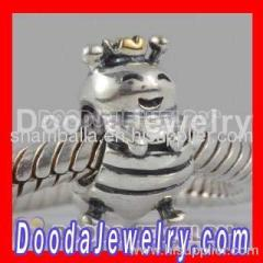 european sterling silver queen bee beads