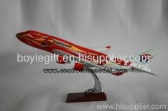 Airplane Model B747-400 Malaysia