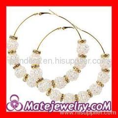 cheap Basketball Wive hoop earrings wholesale