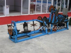 traditional twist barbed wire machine
