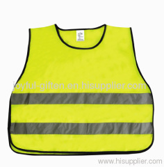 Construction Yellow Safety Vest
