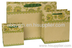 Recycled shopping paper bags