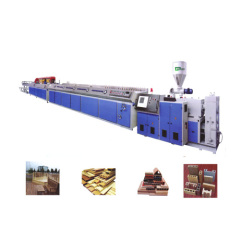 wpc window and door profile production line