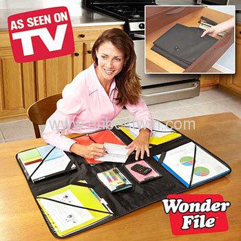 WONDER FILE AS SEEN ON TV