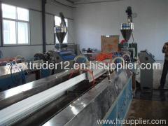 PVC plate extrusion machine