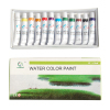 12 colors 12ml watercolor paints