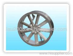 Aluminum axial flow fan