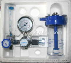 medical oxygen flow regulator