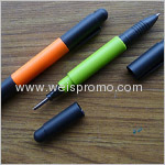 140x15mm Promotion ball pen with screwdriver