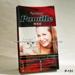 plastic cat litter bag