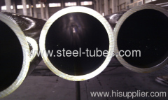 Seamless precision steel pipe for machinery use