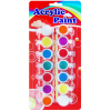 14 c acrylic paints with brush