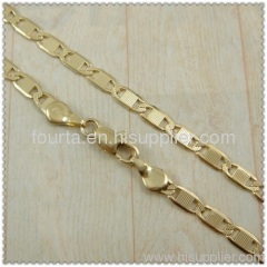 18k gold plated necklace 1420299