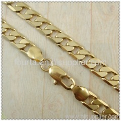 18k gold plated necklace 1430021